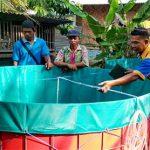 Peluncuran Gerakan Menabung & Budidaya Ikan Air Tawar Organik