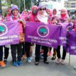 Dukung Buruh, SPR Mengikuti Aksi Unjuk Rasa Di Gedung DPRD Sumut