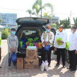 BITRA Indonesia Serahkan APD Sederhana Covid-19 untuk Masyarakat Rentan di Sergai