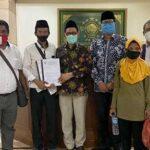 Perwakilan Petani Deli Serdang Peserta Jalan Kaki ke Jakarta Bertemu Ketua PBNU