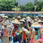 KPA: Petani Reklaiming Gedung DPR, Tuntut Omnibus Law Dihentikan